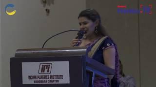 Ms. Palvi Hosting IndiaPlast 2019 Roadshow at Grand Mercure Vadodara Surya Palace, Vadodara