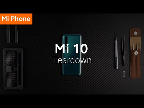 Mi 10: Teardown