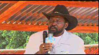 President Salva Kiir Election Campaign in Maridi Western Equatoria