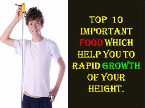 10 important food for increase height.