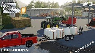 Feeding all animals | Animals on Felsburnn | Farming Simulator 19 | Episode 3