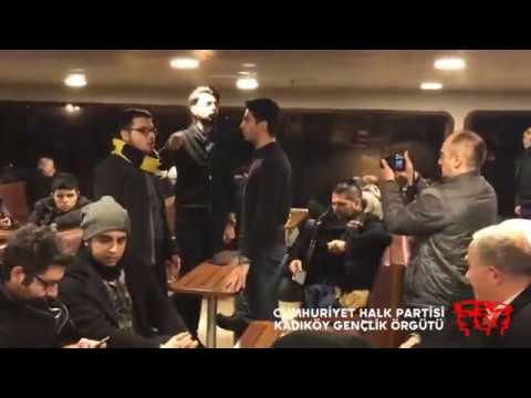 CHP Kadıköy Gençliği, Beşiktaş vapurunda