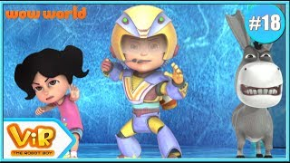 Vir: The Robot Boy In English | The Electrical Transformer | 3D Action Cartoon For Kids | Wow World