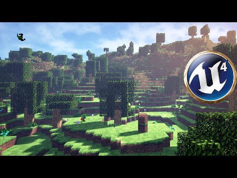 Unreal Minecraft-like cubic World in UE4 + DOWNLOAD from YouTube · Duration:  7 minutes 19 seconds