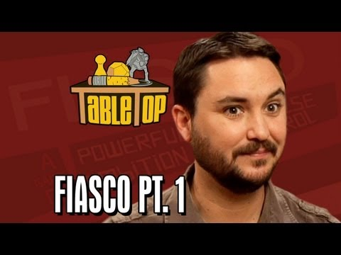 Fiasco: Alison Haislip, Bonnie Burton, and John Rogers join Wil on TableTop, episode 8