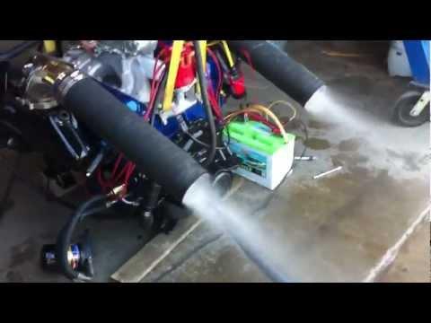 Marine Chevy big block 454 First Start - YouTube