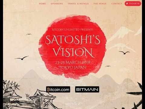 Satoshi Vision Conference Nos Vamos a Tokyo