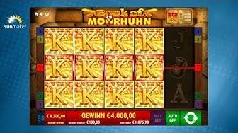 Book of Moorhuhn - Gamomat Automat - sunmaker