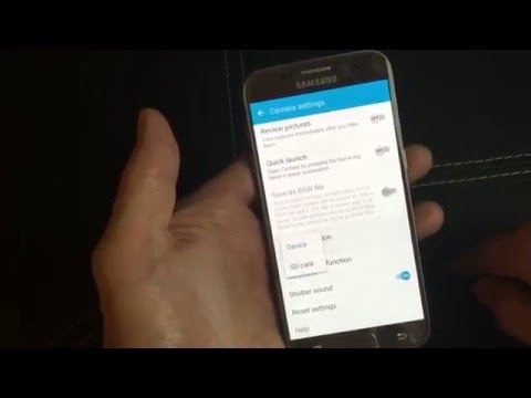 Galaxy S7 / S7 Edge: How to Make Camera Default Location to SD Card---- Photos & Videos