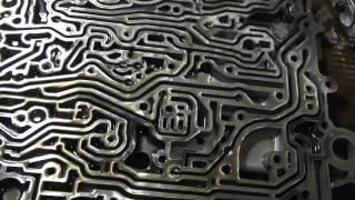 Промывка гидроблока АКПП 5HP19 Audi А4 B6 часть 2