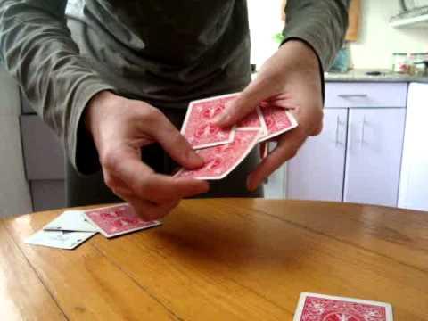 Фокусы с картами - Лучший карточный фокус - Kaminskiy Vadim