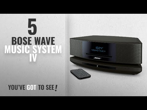 Top 5 Bose Wave Music System Iv [2018]: Bose Wave SoundTouch Music System IV, works with Alexa,
