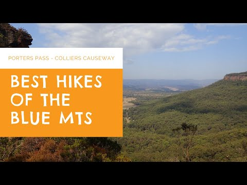Blue Mts Hikes - Porters Pass Via Colliers Causeway