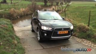 Essai Mitsubishi Outlander II - Test version 2010