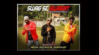 Swag Se Swagat I Tiger Zinda Hai I Rdx Dance Group Bongaon