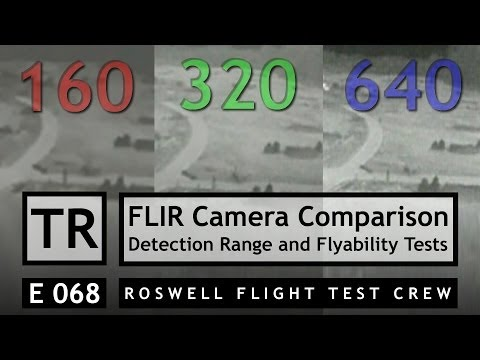 RFTC: FPV FLIR Thermal Camera Comparison, Detection Range and Flight Testing