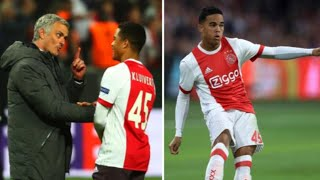 Justin Kluivert Reveals What Mourinho Said To Him After Europa League Final