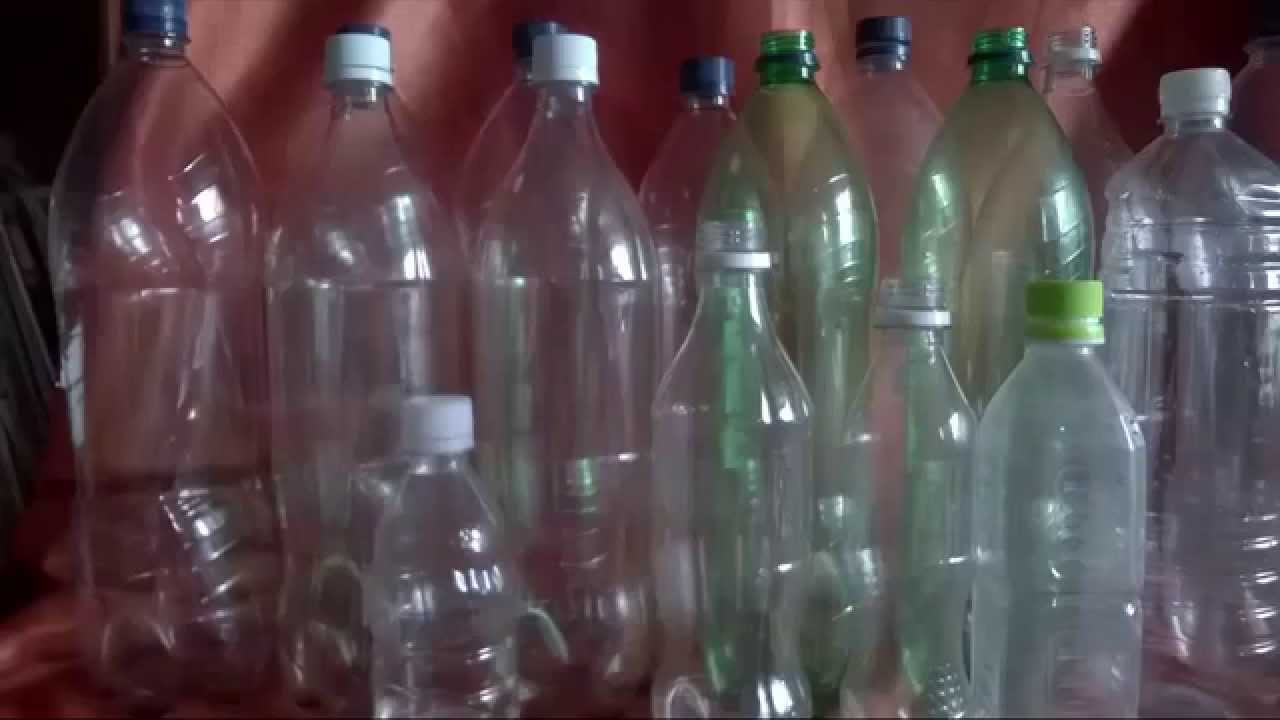Reciclaje: Árbol de Navidad con Rosetas de botellas de plastico ...