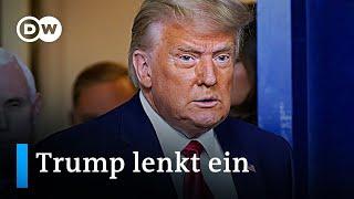 Trump leitet Amtsübergabe ein: Die Rückkehr des Establishments? | DW Nachrichten
