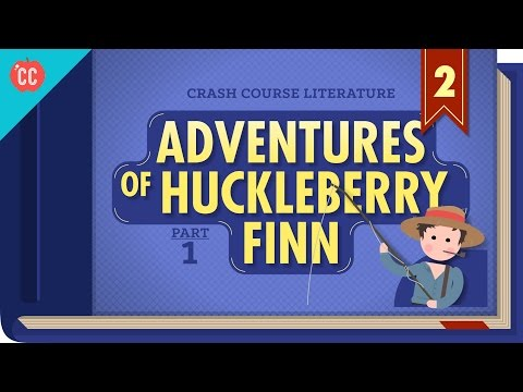 The Adventures of Huckleberry Finn Part 1: Crash Course Lite