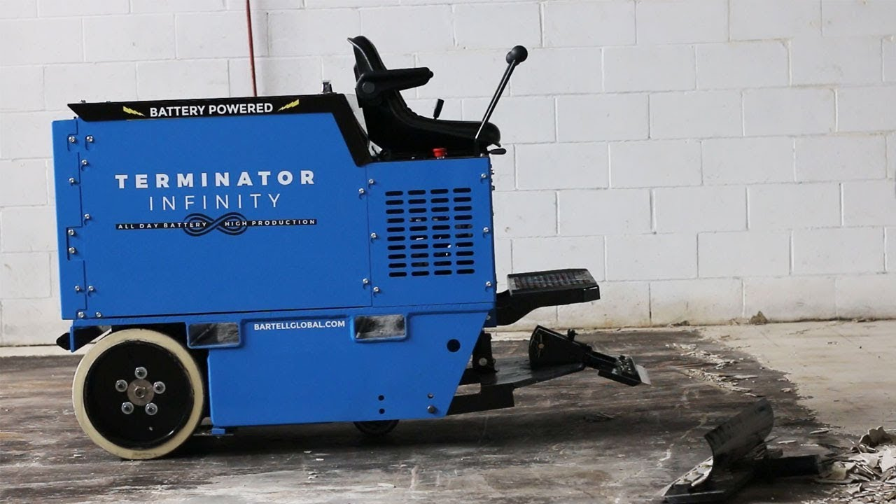 Terminator Floor Scraper The Infinity YouTube - Mechanical floor scraper