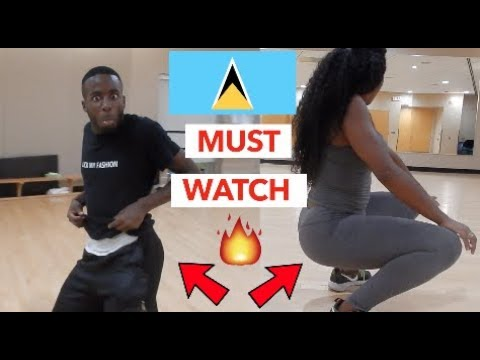 FREESTYLE TO SPLIT IN THE MIDDLE - FREEZY (ST. LUCIA WHERE Y'ALL AT?) // DANCE VLOG!!!! 🇱🇨🇱🇨🔥🔥