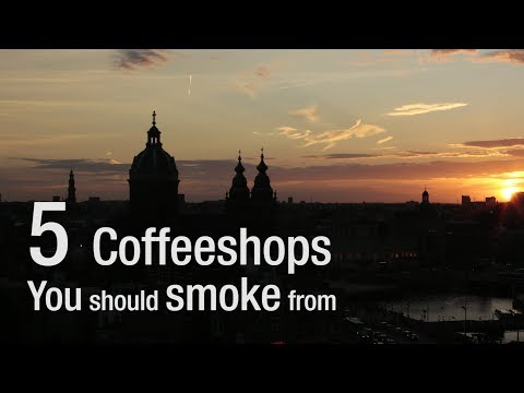 5 Coffeeshops you should smoke from in Amsterdam