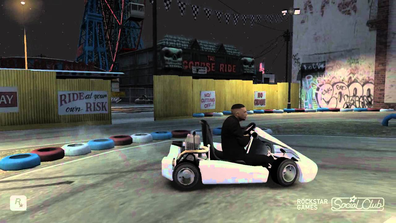 Karting In Liberty City GTA IV Karting Mod YouTube