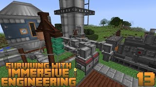 Surviving With Immersive Engineering 1.12 :: E13 - Crude Oil Power Generation