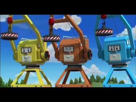 Робокар Поли - Трансформеры - Лэки, Лэти, Лэпи (мультфильм 19)