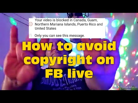 How To Avoid Facebook Live Copyright, And Stop Getting Cut Off!