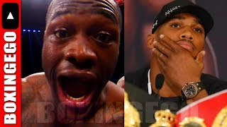 (DAMN!!!!) DEONTAY WILDER CHALLENGES ANTHONY JOSHUA'S OFFER - AGREES 2 COME TO UK IN TWO-FIGHT DEAL