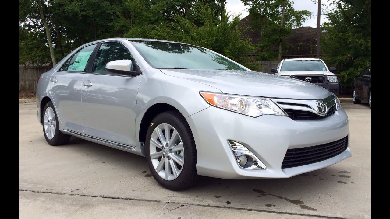 2014 Toyota Camry XLE V6 Full Review: Startup U0026 Exhaust   YouTube