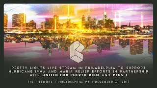 Pretty Lights Live @ The Fillmore - Philly 12/31/2017