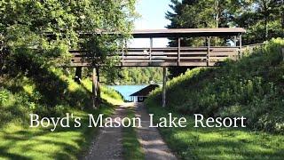 Boyd's Mason Lake Resort | Northwoods Wisconsin