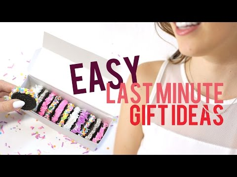 EASY LAST MINUTE GIFTS TO DIY | THE SORRY GIRLS