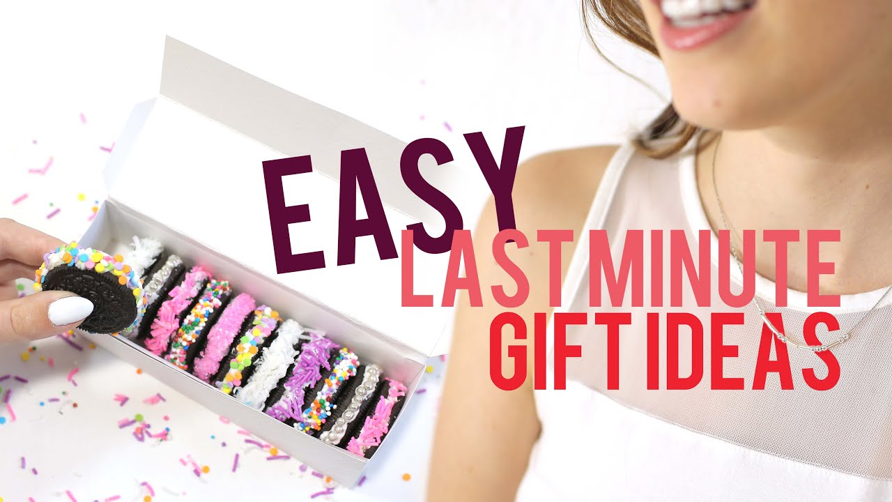 EASY LAST MINUTE GIFTS TO DIY | THE SORRY GIRLS - YouTube