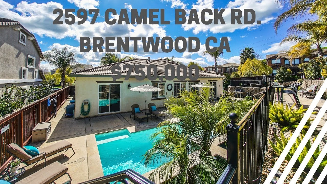 Immaculate Entertainers DREAM Backyard! 2597 Camel Back Road, Brentwood CA 94513