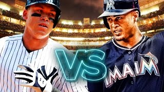 Is Aaron Judge  More Powerful Then Giancarlo Stanton? MLB 17 The Show Challenge