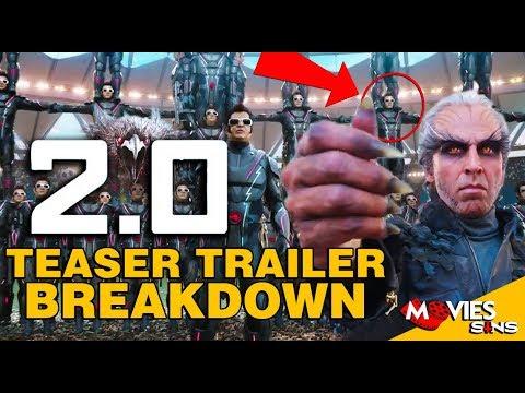 2.0 - Teaser Trailer Breakdown [Hindi] |...
