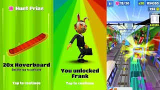 Subway Surfers Singapore: Unlocking Frank- Super Mystery Box and Weekly Hunt Gameplay HD