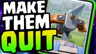 MAKE THEM QUIT WITH 2.9 XBOW CYCLE! MAXING THE MOST IMPORTANT CARD! | Clash Royale