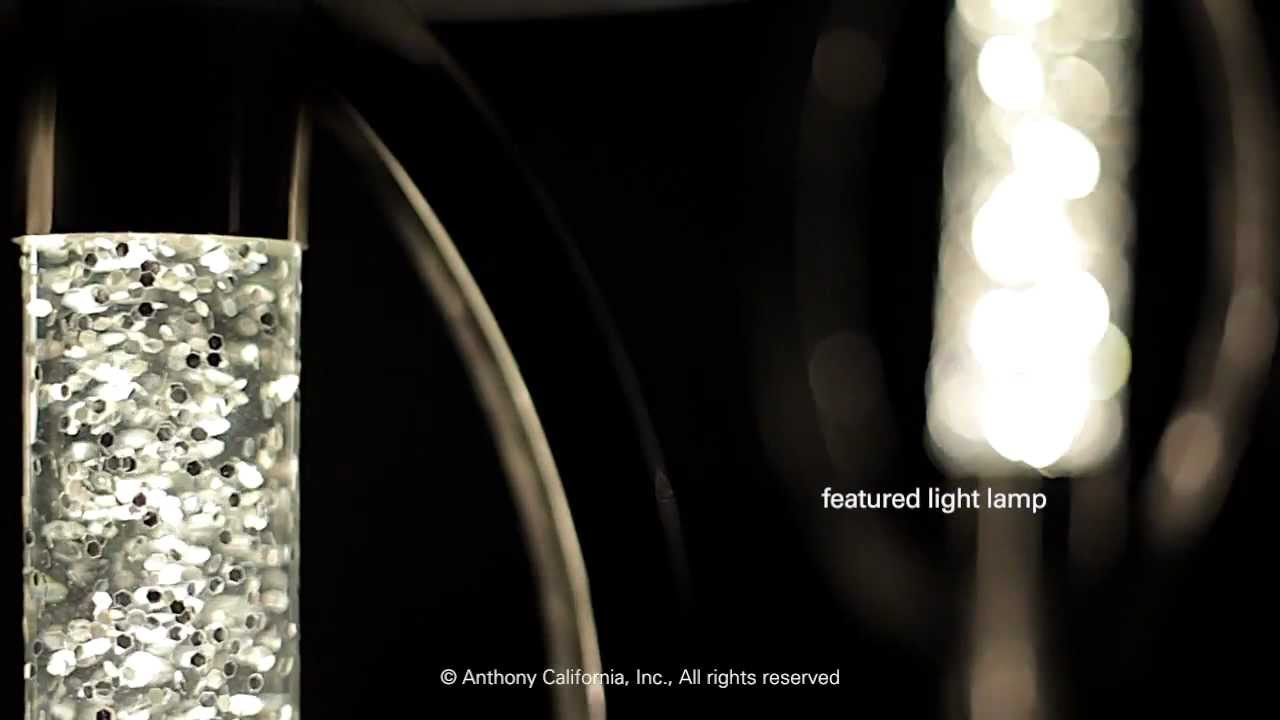 Anthony california glitter floor lamp table lamp youtube aloadofball Images