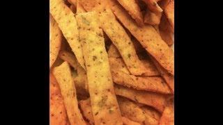 Savory Crispy Flat Bread Or Khari Puri