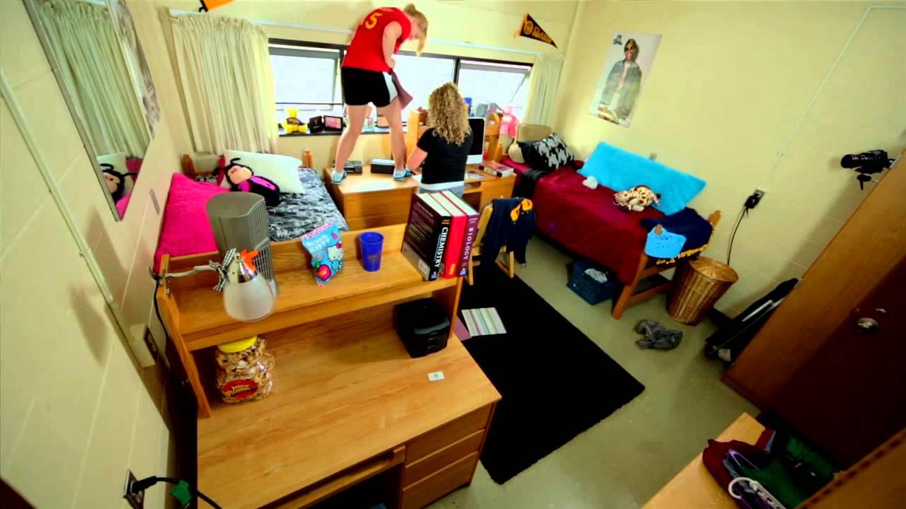 clarion university dorm rooms