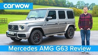 Mercedes-AMG G63 SUV 2019 in-depth review - see why it's worth £150,000!