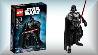 Лего Дарт Вейдер 75111 Звездные войны. Обзор и сборка конструктора LEGO Star Wars Darth Vader(Привет фанаты Лего Звездные войны! Сегодня Лего Дарт Вейдер 75111. Обзор и сборка конструктора LEGO Star Wars Darth..., 2015-09-09T22:25:20.000Z)