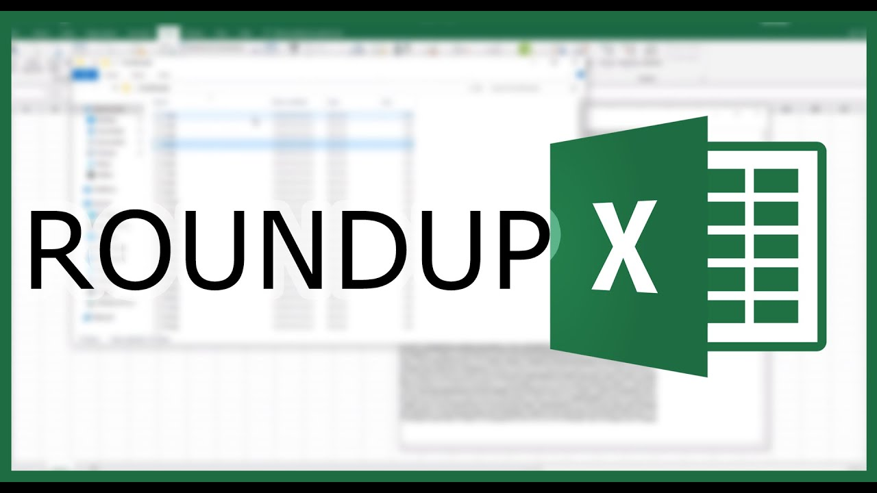 Excel ROUNDUP vs ROUND: Differences in Rounding to a Number or Decimal  Places | Excel in Minutes
