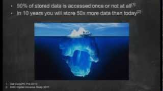 AWS re: Invent STG 302: Archive in the Cloud with Amazon Glacier