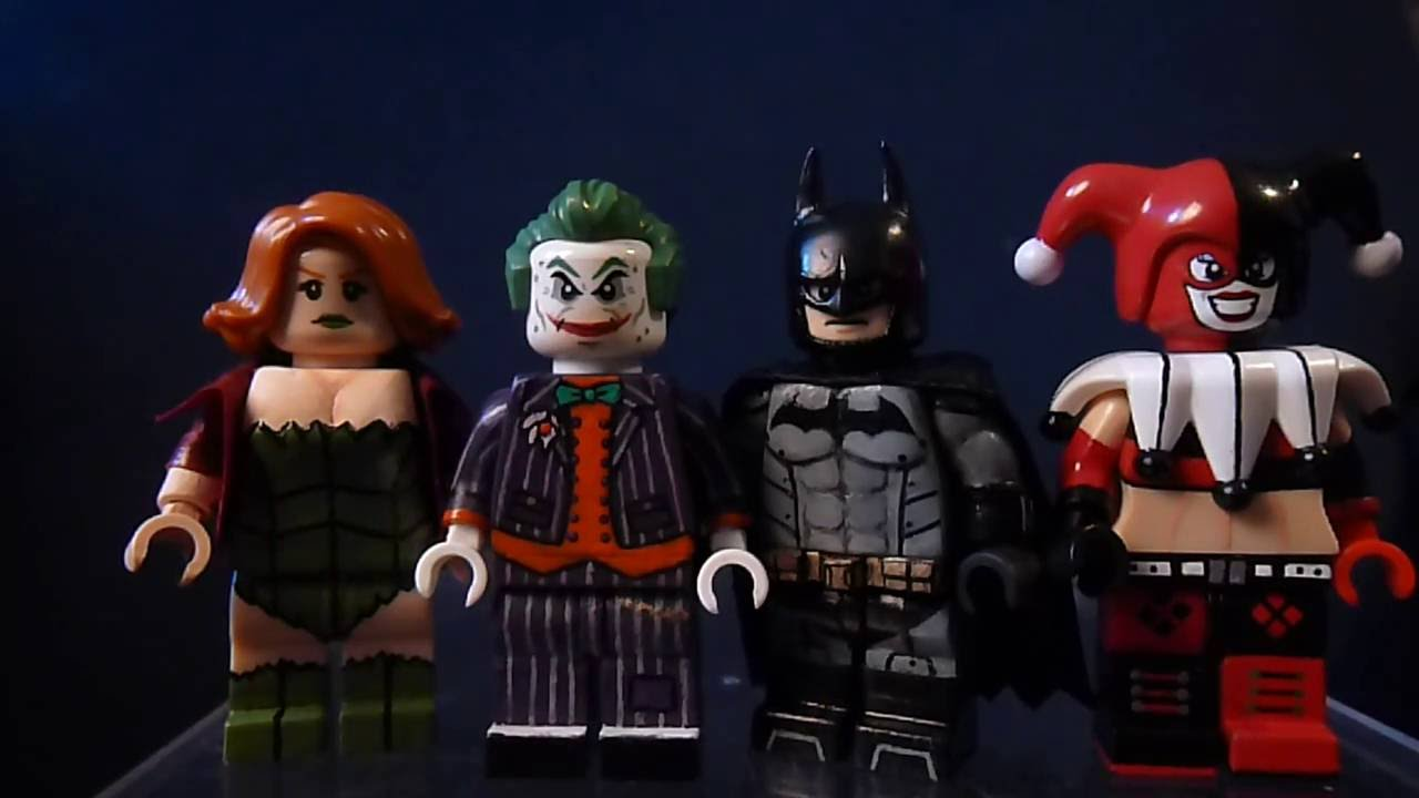 LE JOKER HARLEY QUINN Figurine lego DC Comics BATMAN
